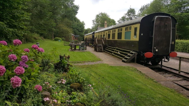 2.-View-of-the-Carriages-from-Woodland